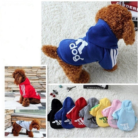 Pets Coats Soft Cotton