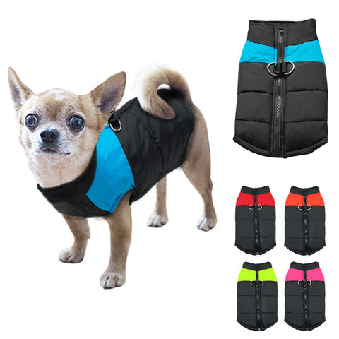 Dog Vest Jacket Clothing Warm