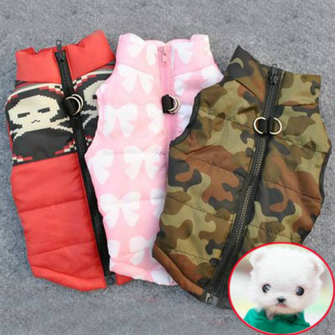 Winter Warm Pet Dog Clothes Vest