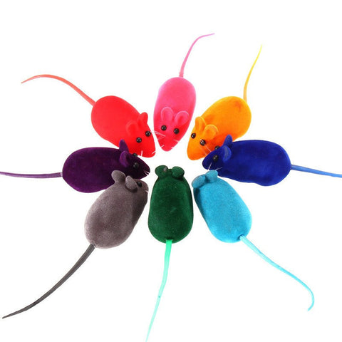 Soft Rubber Cat Toy Mouse