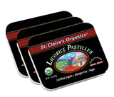 Organic Licorice Herbal Pastilles
