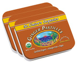 Organic Ginger Herbal Pastilles
