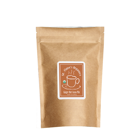 Organic Ginger Hot Cocoa Mix (12 oz.) Case of 6
