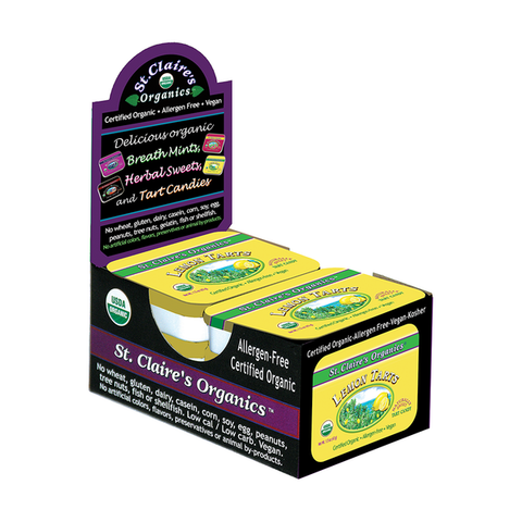 Organic Lemon Tarts - 6 Pack (1.5 oz Tins)