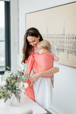 Peachland ring sling canada | pretty baby carrier canada | Potter & Pehar coral ring sling