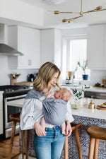 ring sling canada | baby sling carrier for newborns | Potter & Pehar linen ring sling