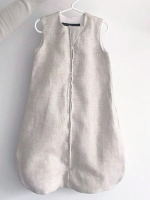 linen sleep sack | breathable baby sleep sack | summer sleep sack | neutral sleep sack | bamboo baby sleep sack