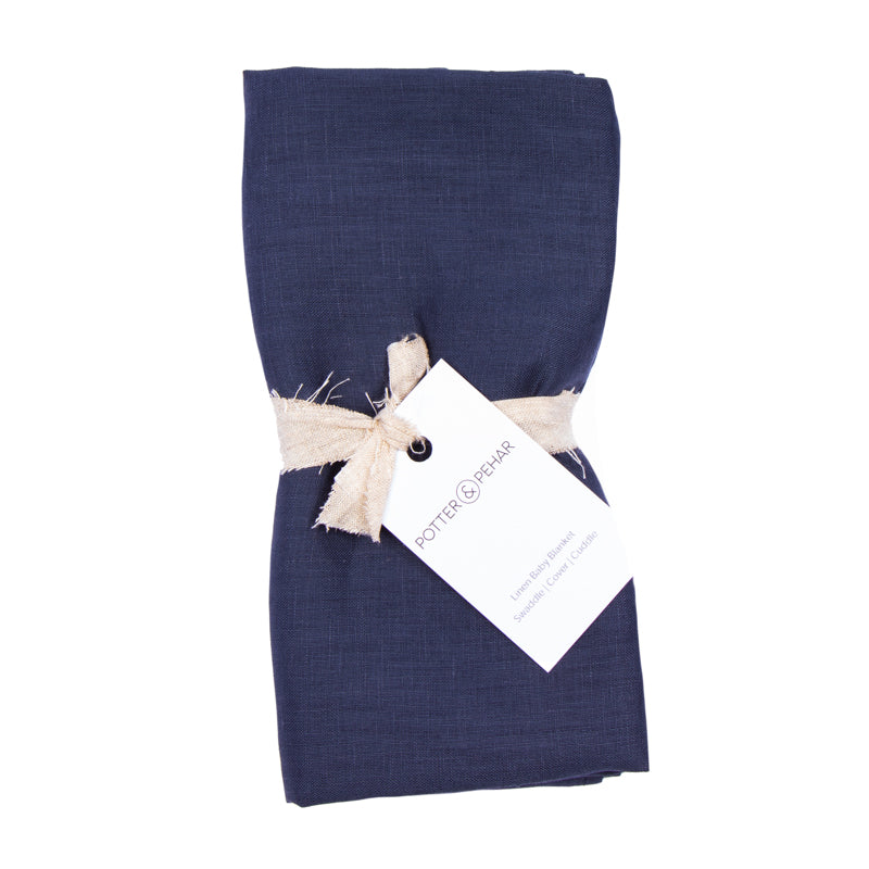 Pettinger Point Linen Baby Blanket