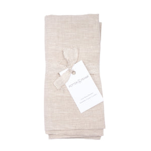 Bluffs Linen Baby Blanket