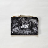 Rosairus - Mountain Rain Coin Wallet - Black/White