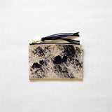 Rosairus - Mountain Rain Coin Wallet - Natural/Black