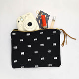 Rosairus - Three Dots Clutch - Black/White