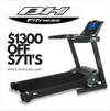 $1300 OFF s7ti treadmills