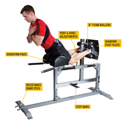 Body Solid SGH500 Glute/Ham Machine