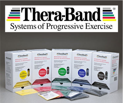 TheraBand™ Resistance Bands (Individual - 5 foot)