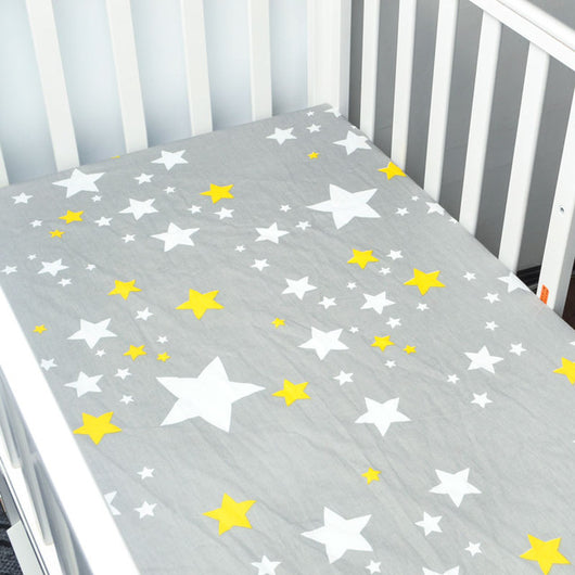 infants bed baby bedding crib cribs made yellow quality item sheets high cotton set material