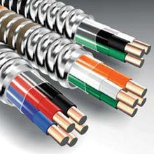 12 AWG, 250 Foot, Black/White, Soft Drawn Copper, MC, Armored Cable (Qty: 250 ) - Dalf-Point