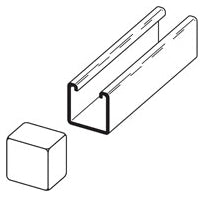 Cooper B-Line Channel End Cap - Dalf-Point