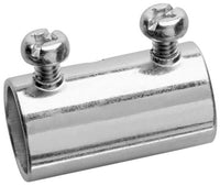 1/2 Inch, Steel, Set Screw, Thin Wall, EMT Coupling (Qty: 50 ) - Dalf-Point