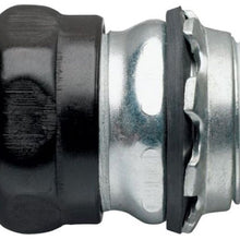 4 Inch, Steel, Compression, EMT Connector - Dalf-Point