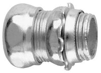 3/4 Inch, Steel, Compression, EMT Connector - Dalf-Point