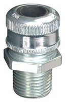 0.375 to 0.5 Inch, Steel, Male Threaded, Straight, Cable Gland - Dalf-Point