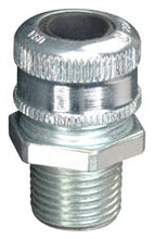 0.125 to 0.25 Inch, Steel, Male Threaded, Straight, Cable Gland - Dalf-Point