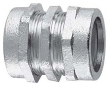 1/2 Inch, Malleable Iron, Plain, Rigid Conduit Coupling - Dalf-Point