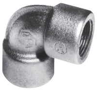3/4 Inch, Feraloy Iron Alloy/Ductile Iron, Short, 90D, Conduit Elbow - Dalf-Point