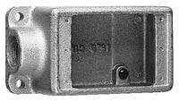 2-3/4 Inch x 2-11/16 Inch x 5-5/32 Inch, Iron Alloy, Cast Device Box - Dalf-Point
