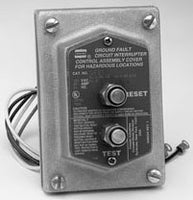 125 VAC, 20 Amp, Feed-Through, Ground Fault Circuit Interrupter ...