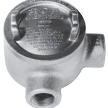 1/2 Inch, 3 Inch Open, Iron Alloy, L Style, Conduit Outlet Box - Dalf-Point
