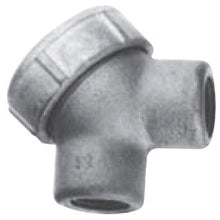 1/2 Inch, Feraloy Iron Alloy, Capped, Pulling, 90D, Conduit Elbow - Dalf-Point