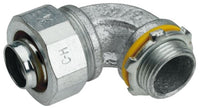 1-1/2 Inch, Malleable Iron, 90D, Metallic Conduit Connector - Dalf-Point
