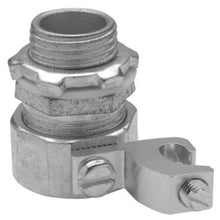 1-1/2 Inch, Malleable Iron, Straight, Metallic Conduit Connector - Dalf-Point
