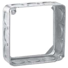 4 Inch x 1-1/2 Inch x 4 Inch, Square Box Extension Ring - Dalf-Point
