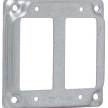 4 Inch Box, 2-GFCI Receptacle, Square Box Surface Cover - Dalf-Point