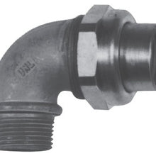 3/4 Inch, Feraloy Iron Alloy, Female/Male, 90D, Conduit Elbow Union - Dalf-Point