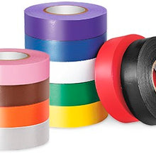3/4 Inch x 66 Foot, White, PVC, Color-Coding Electrical Tape - Dalf-Point