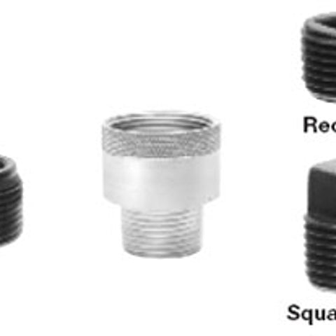 1/2 Inch, Steel, Recessed, Threaded, Explosionproof Pipe Plug - Dalf-Point