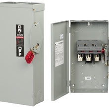 480/600 VAC, 100 Amp, 3P, NEMA 1, Safety Switch - Dalf-Point