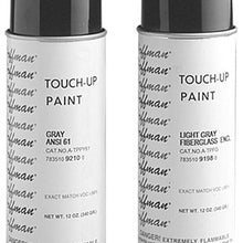 12 Oz, ANSI 61 Standard Gray, Spray Can, Enclosure Touch Up Paint - Dalf-Point