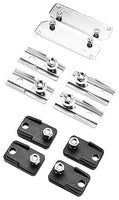 Zinc Plated, Steel, Composite, Enclosure Mounting Foot Kit - Dalf-Point