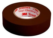 3/4 Inch x 66 Foot, Brown, PVC, Electrical Tape - Dalf-Point