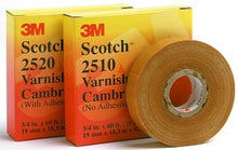 3/4 Inch x 60 Foot, Yellow, Cotton Cambric, Insulating Tape - Dalf-Point
