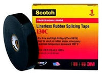 1 Inch x 30 Foot, Black, EPR Linerless, Splicing Tape - Dalf-Point