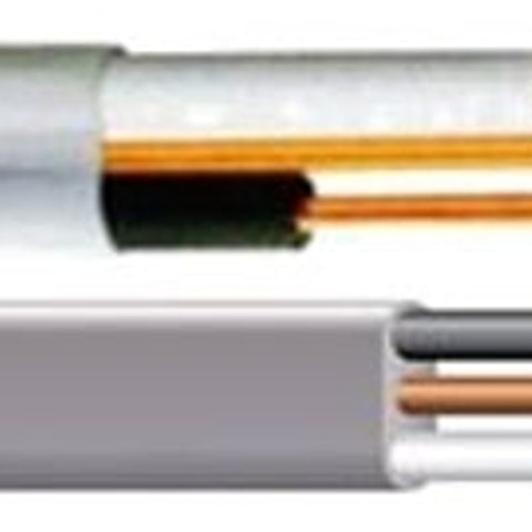 2-Conductor, 10 AWG, Annealed Copper, Non-Metallic Sheathed Cable (Length: 100FT ) - Dalf-Point