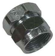 3/4 Inch, Zinc Plated Malleable Iron, EMT Combination Coupling - Dalf-Point