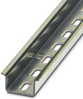 2000 MM x 35 MM x 15 MM, Steel, Perforated, Terminal Block DIN-Rail - Dalf-Point