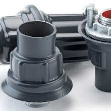 Plasti-Bond Rigid Conduit Knockout Hub - Dalf-Point